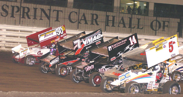 first time i went to a sprint car race