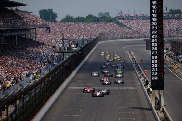 went to the indy 500