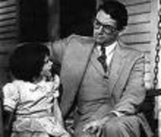 Atticus lectures kids about Boo Radley