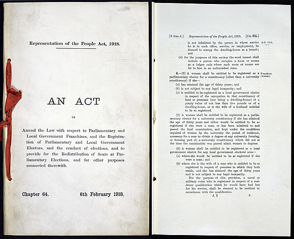 Representation of the People Act Passed