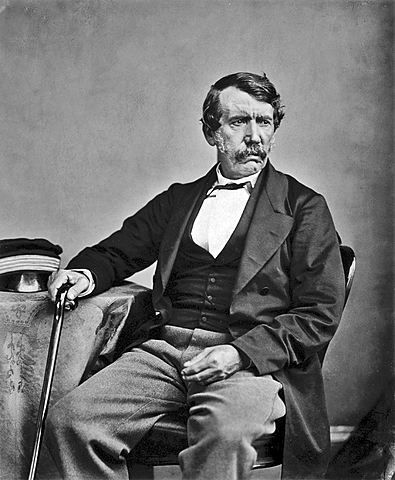 Dr. David Livingstone Travels to Africa