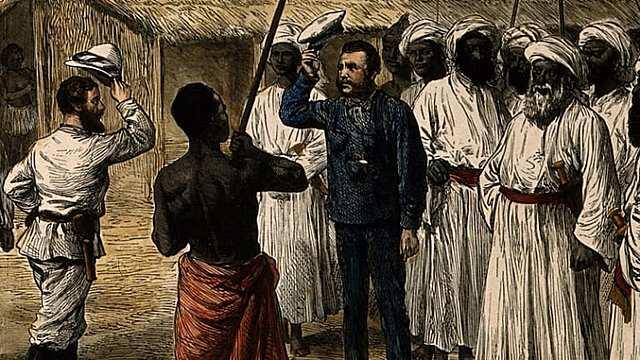 Sir Henry Stanley Finds Dr. David Livingstone