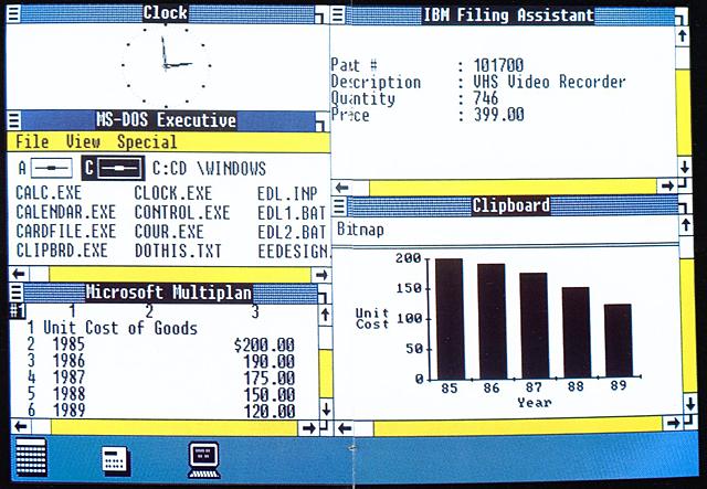 El inicio de microsoft windows como sistema operativo y su camino hacia la popularidad
