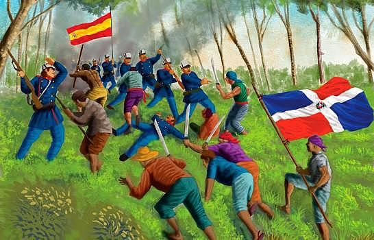 La Guerra de la Restauración fue una guerra llevada a cabo en Santo Domingo entre los dominicanos y España.