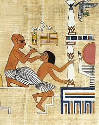 Primeros estudios en el Antiguo Egipto