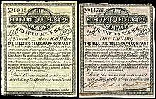 First Electric Telegraph