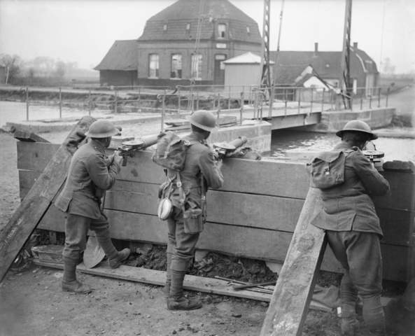 Germans launch the second offence of their spring push