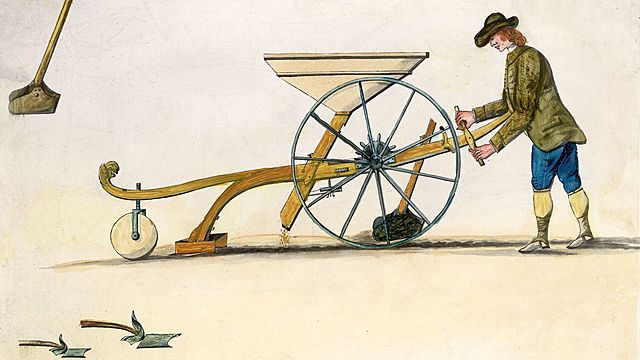 Jethro Tull's Seed Drill - Invention