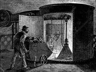 Blast Furnace - Invention