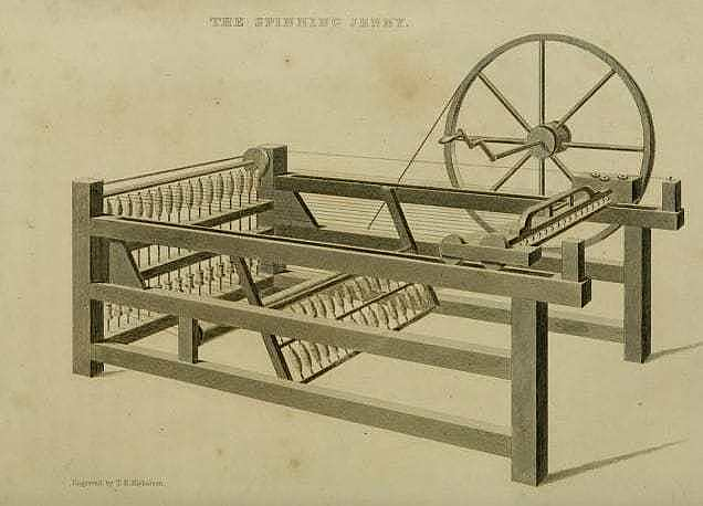 Spinning Jenny - Invention