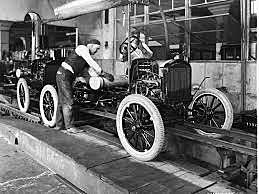 Henry Ford Production Line Car - Invention