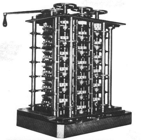 He peresented difference engine