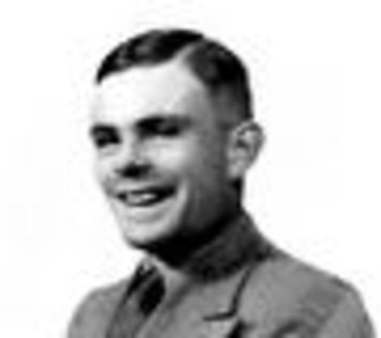 Alan Mathison Turing was born.