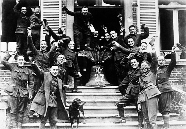 Avslutningen av 1. verdenskrig og fredsavtalen