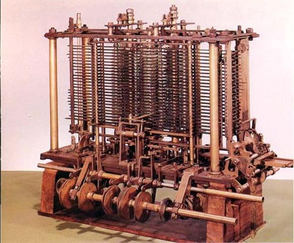 Analytical Engine made by Chales babbage