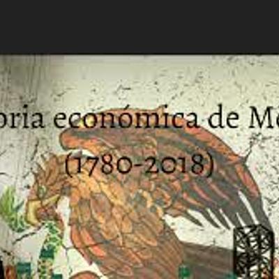 Momentos más importantes de la historia económica en México. timeline