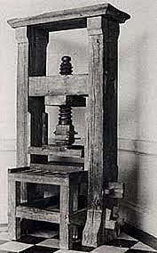 Instalación de la primera imprenta en México