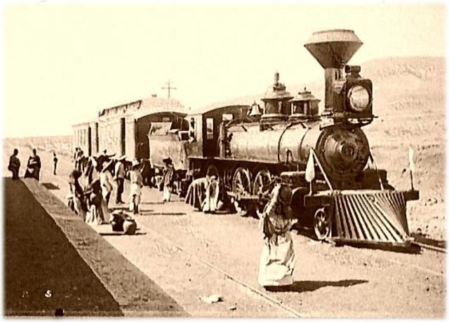 Primer Ferrocarril del món