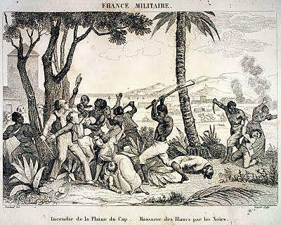 Toma de la isla por los haitiano