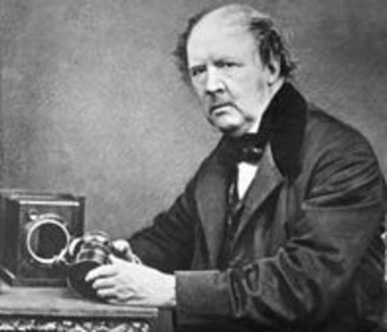 William Henry Talbot patents the Calotype process