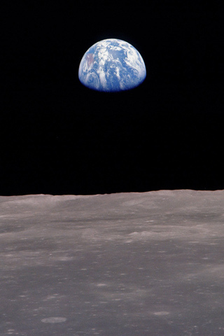 Photograph of the Earth from the Moon