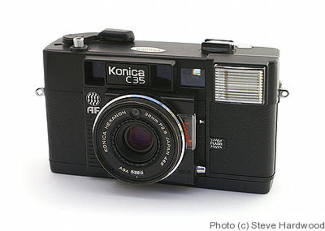 Konica introduces first point-and-shoot autofocus camera