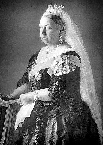Queen Victoria took the crown
