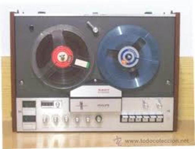 magnetófonos comerciales