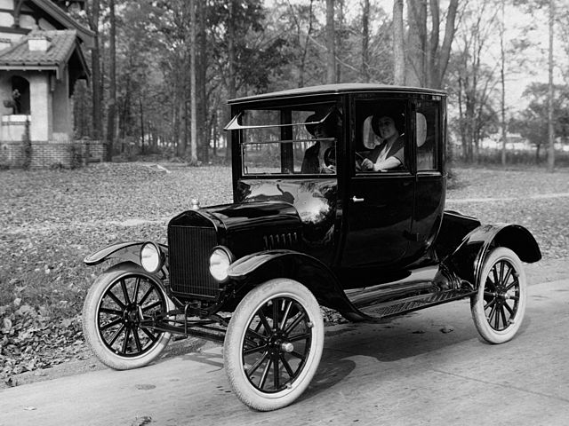 The Model T Car is invented
