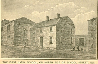 First Public School in the United States