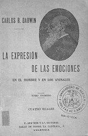 La expresión de las emociones en el hombre y los animales