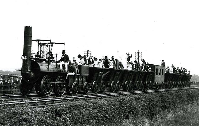 Public steam railway