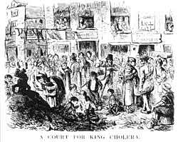 Cholera break out 1848-1849