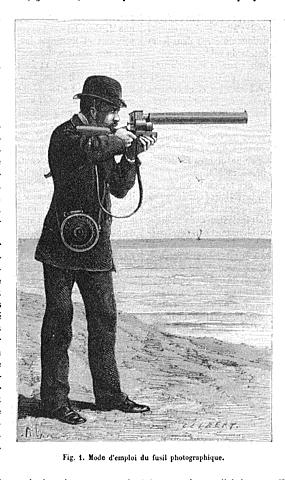 ETIENNE JULES MAREY Cronofotógrafo