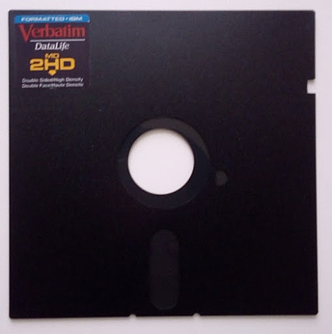 La computadora Diskette 5.25