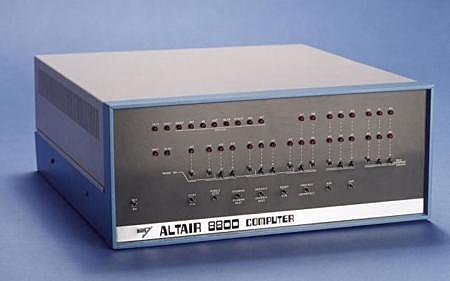 La computadora Altair 8800