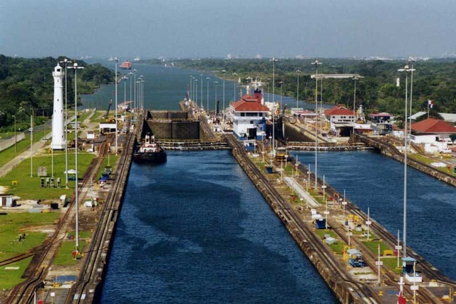 U.S. Gives Up Rights to Panama Canal