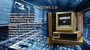 La computadora Windows 1.0