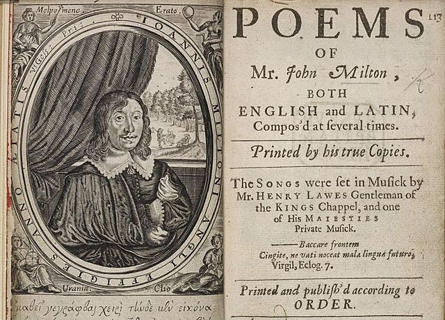 John Milton Publishes Lycidas