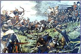 MUSLIM DEFEAT IN THE BATTLE OF POITIERS
