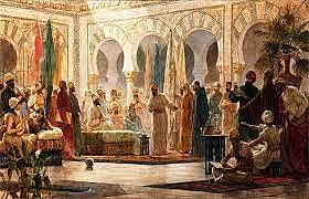 ABD AL-RAHMAN III PROCLAIMS HIMSELF CALIPH