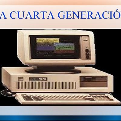 CUARTA GENERACIÓN DE COMPUTADORAS timeline