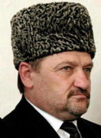 New President for Chechnya