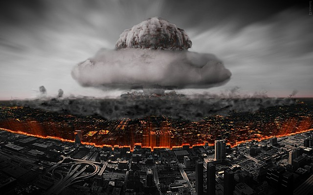 Explosión de la bomba atómica