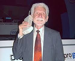 The first mobile call