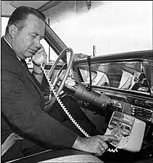 First mobile cell phone network - 1G