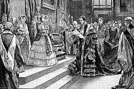 Queen Victoria marries Prince Albert