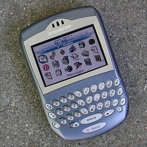 Blackberry revolution