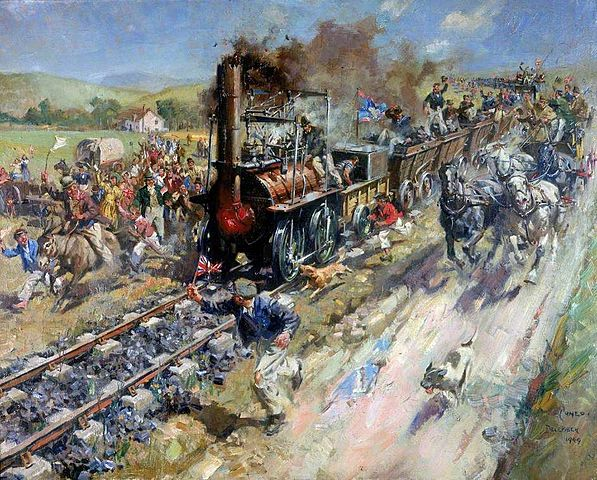 The first English railway