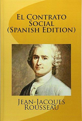 """""""El contrato social""""; Rousseau"""